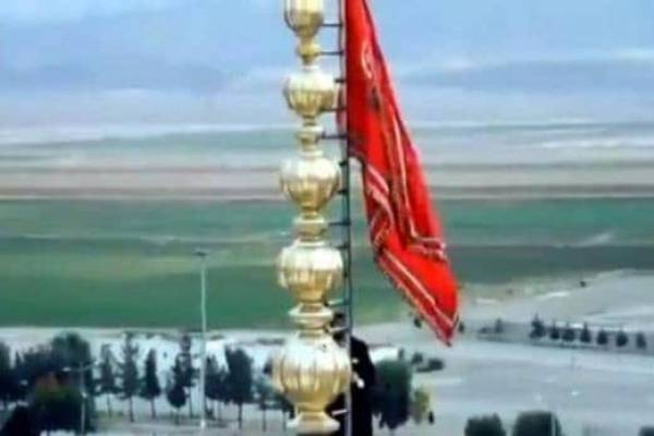 अमेरिका और ईरान के बीच जंग का ऐलान..मस्ज़िद में लहराया गया लाल झंडा..!