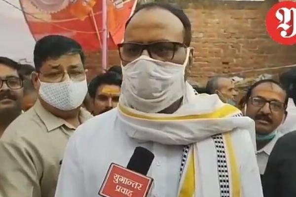 यूपी उपचुनाव:बांगरमऊ पहुंचे क़ानून मंत्री ब्रजेश पाठक ने ब्राह्मणों की नाराज़गी पर क्या कहा.!