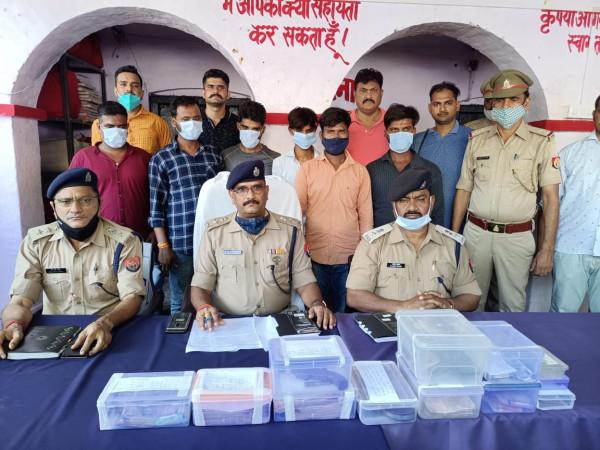 Fatehpur Crime News:फतेहपुर पुलिस ने किराना व्यापारी लूटकांड का किया खुलासा 6 बदमाश गिरफ्तार