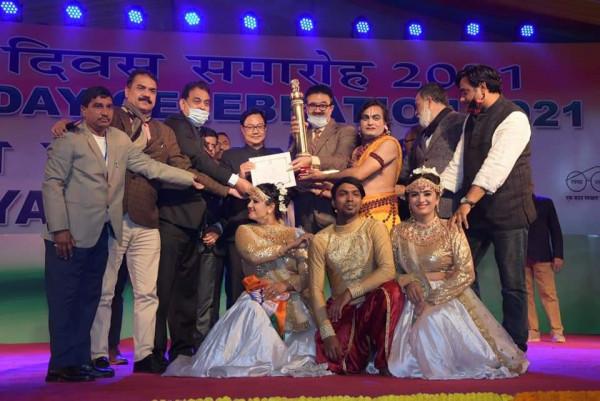 Uttar Pradesh:यूपी के लिए गौरव के पल गणतंत्र दिवस की झाँकी नम्बर-1
