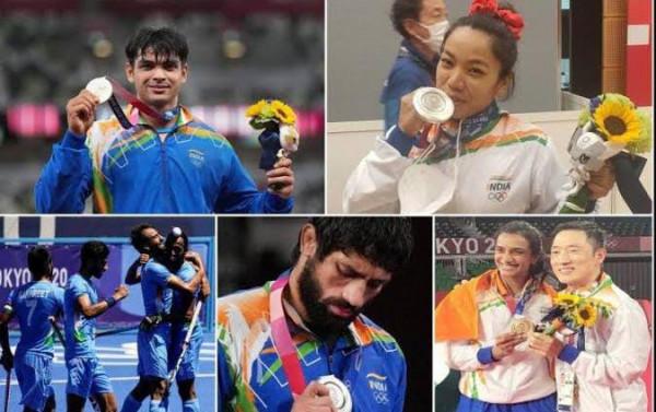 CM Yogi News: टोक्यो ओलंपिक में शानदार प्रदर्शन करने वाले खिलाड़ियों के लिए योगी सरकार करेगी धन वर्षा जानें किसको कितना मिलेगा